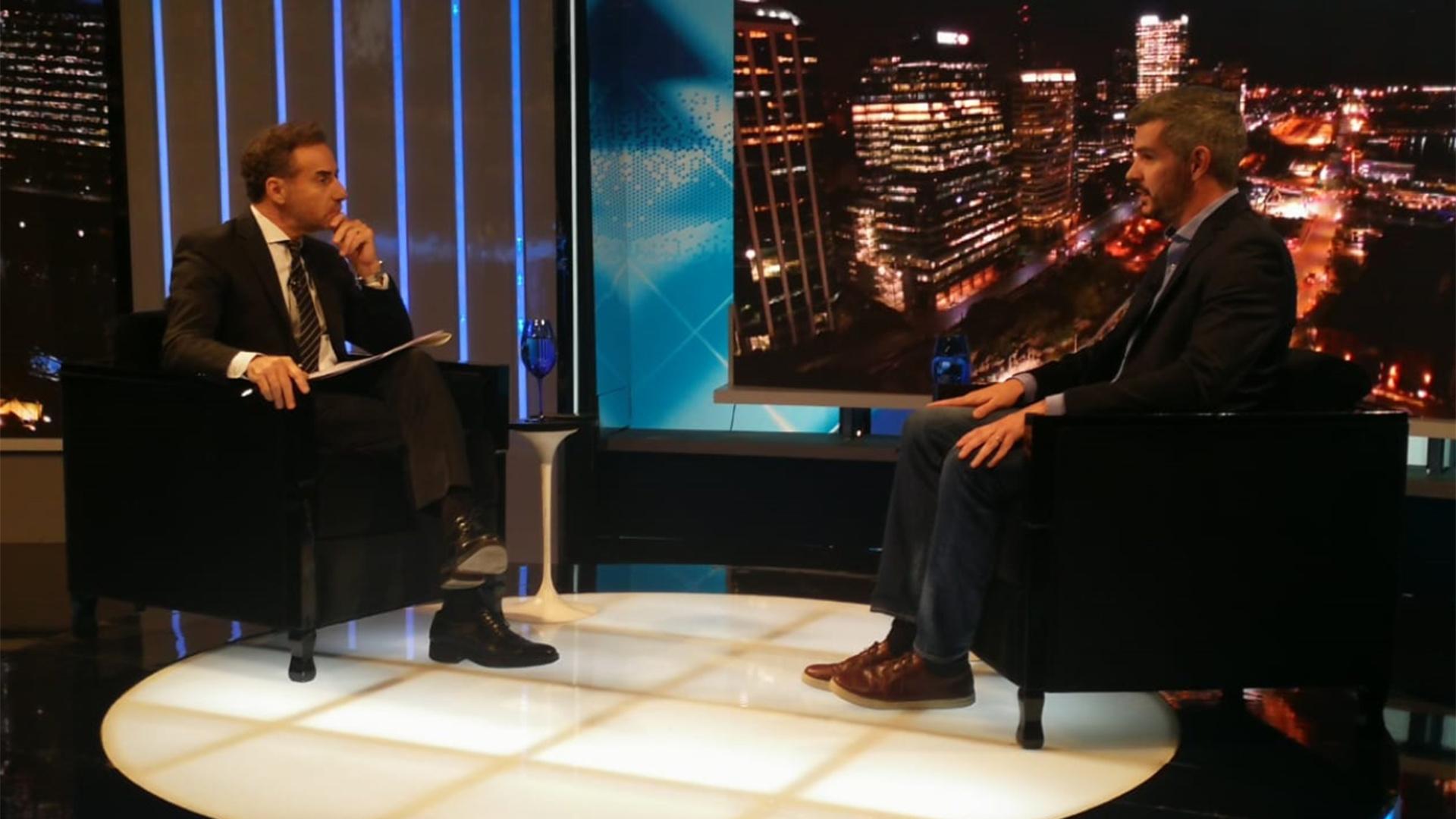 Marcos Peña y las turbulencias económicas: \