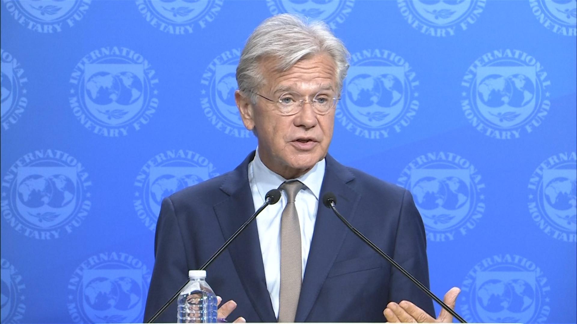 """Gerry Rice, vocero del FMI: """"El rol del FMI es apoyar las prioridades de  Argentina"""" - Infobae"""
