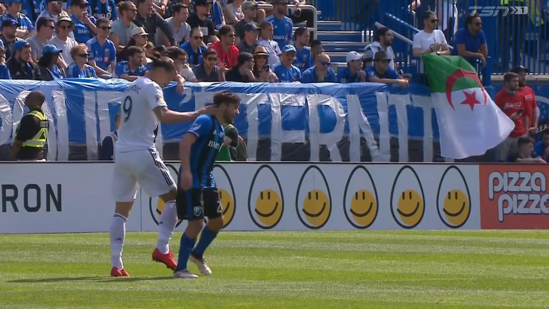 Escandalosa expulsión de Zlatan Ibrahimovic en la MLS por un ...
