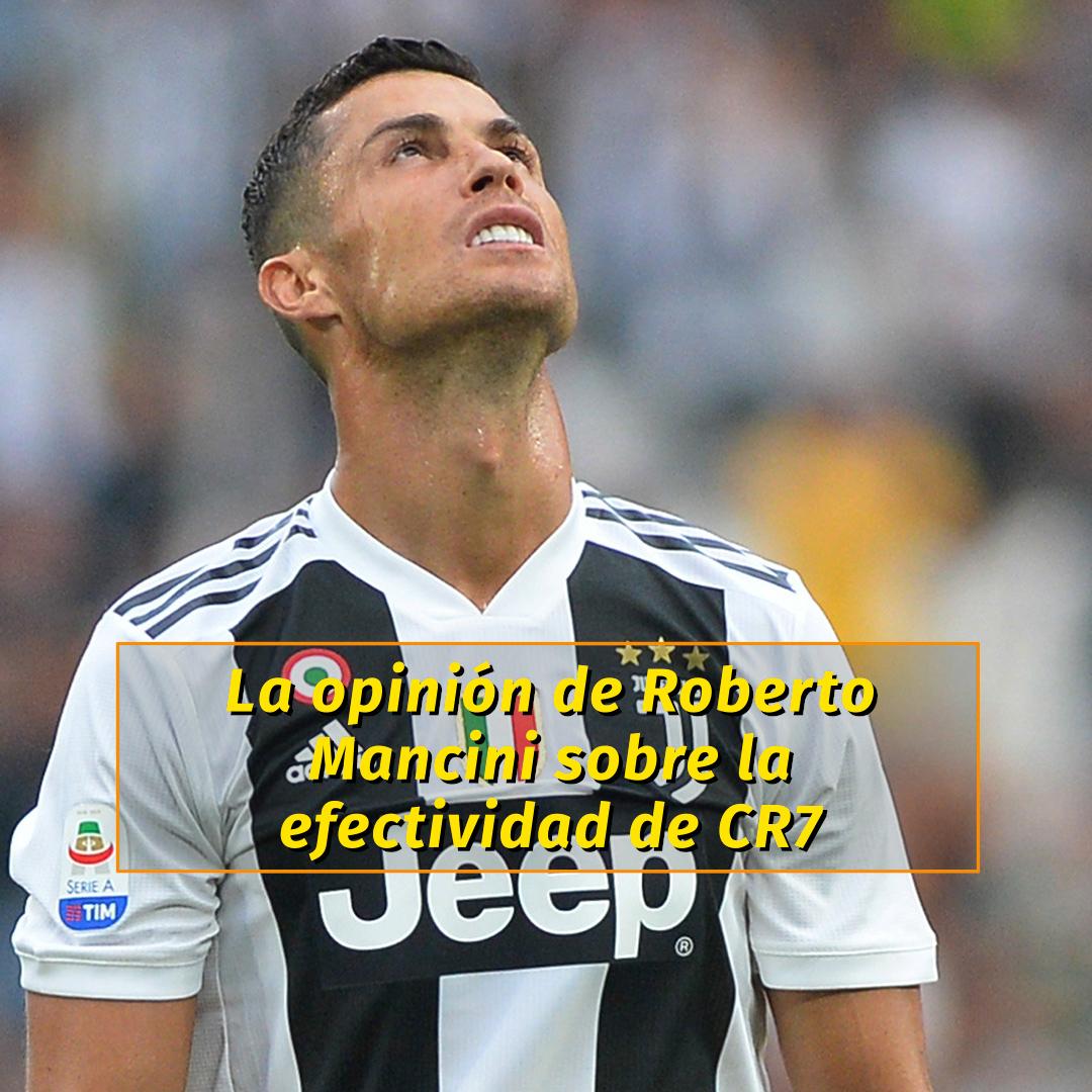 Roberto Mancini explicó por qué Cristiano Ronaldo perdió su ...