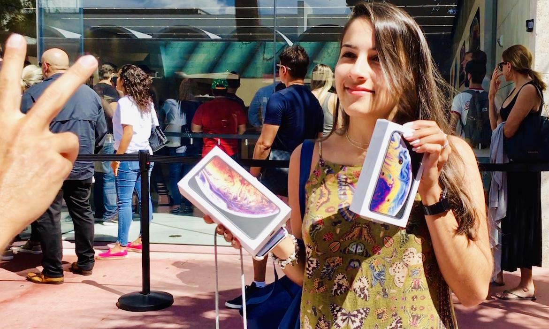 Cómo se vivió el primer día de venta de los nuevos iPhone de Apple ...