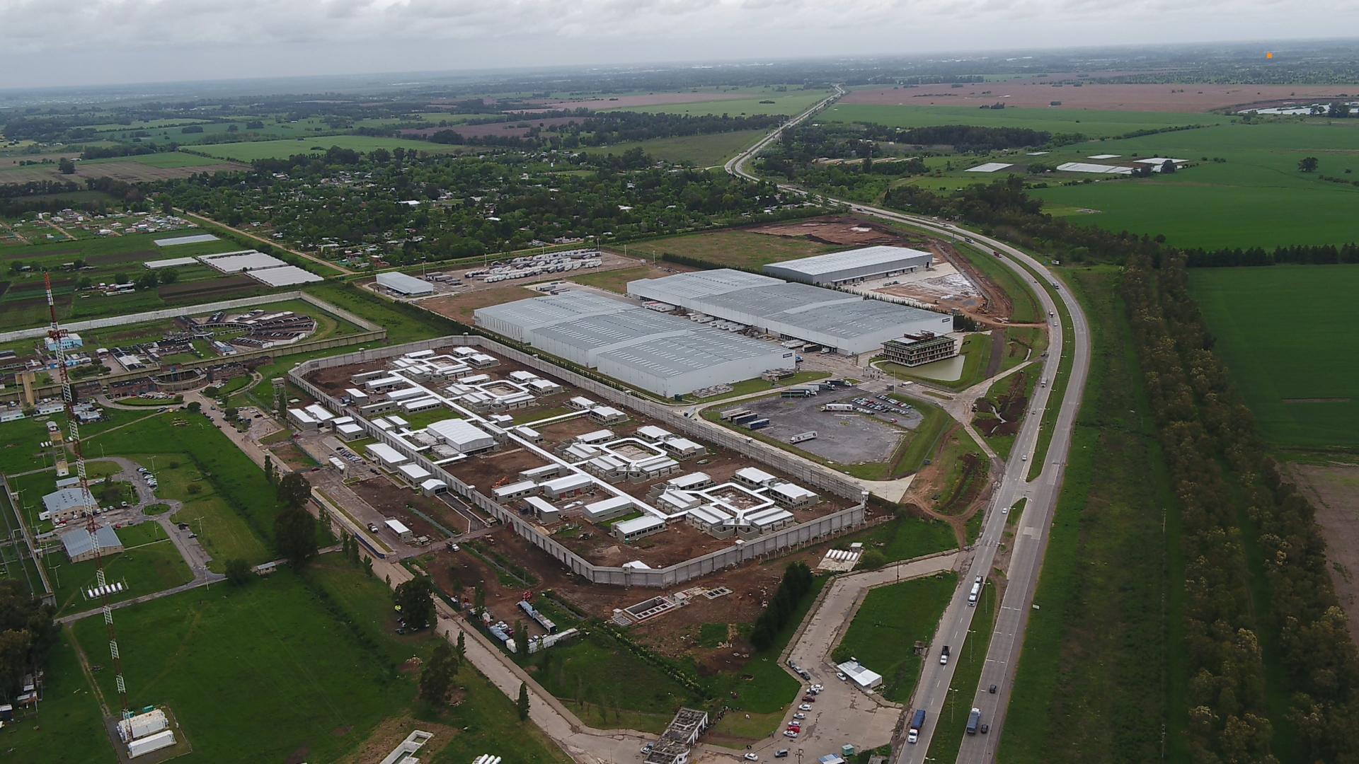 """Resultado de imagen para La nueva cárcel para """"pibes chorros"""" que construye Cambiemos vista desde el aire: costará 710 millones de pesos"""